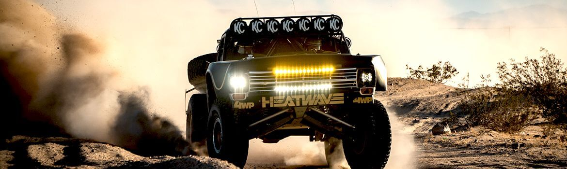 Off Road Lights, Light Bars & Light Pods