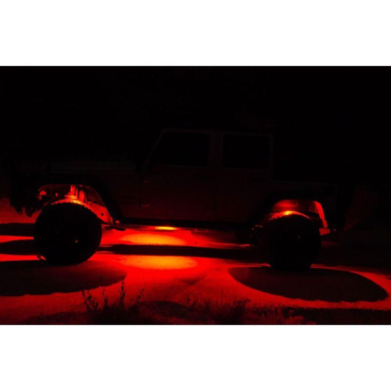 C-Series RGB Multi-Color Multi-Use LED 6-Light System - 5W Flood Beam