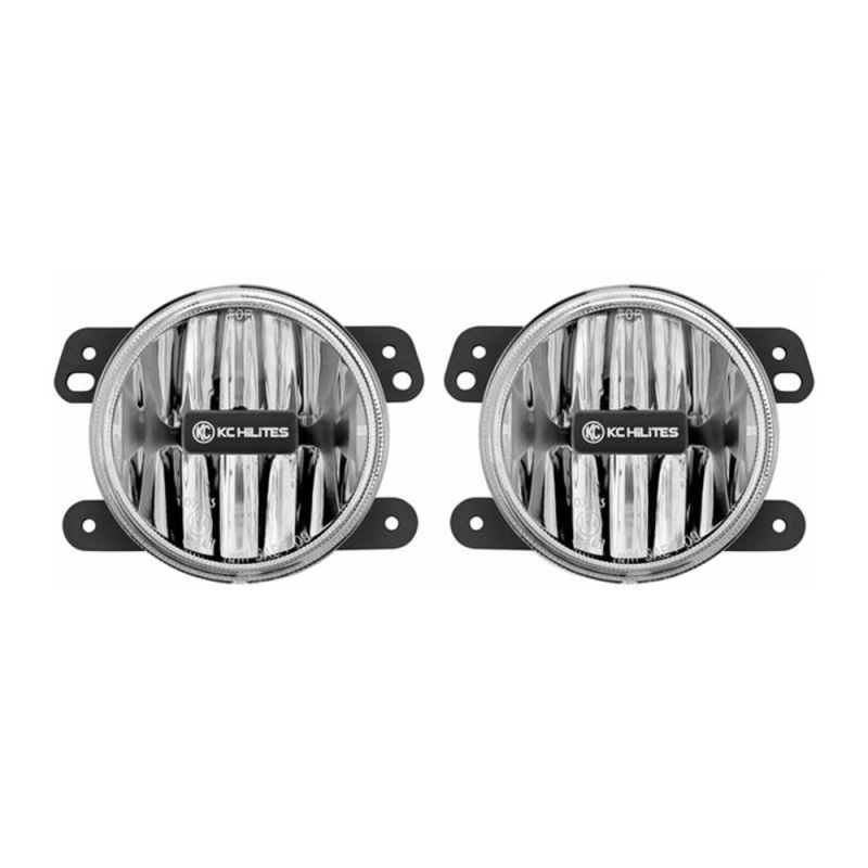 Gravity® LED G4 Jeep Wrangler JK (10-18) LED Fog Pair Pack System