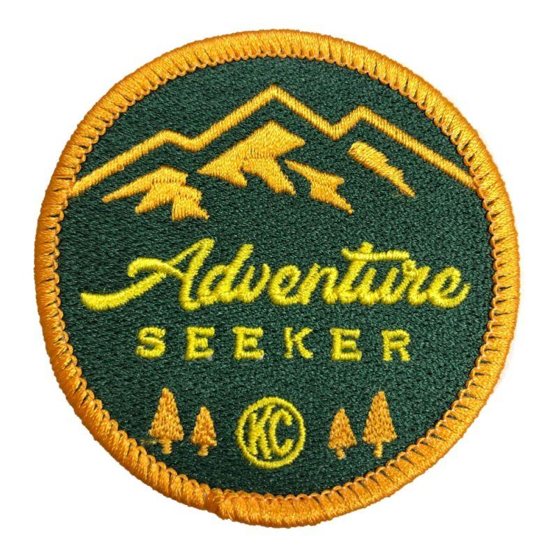 KC Adventure Seeker Patch - Round - 2.5