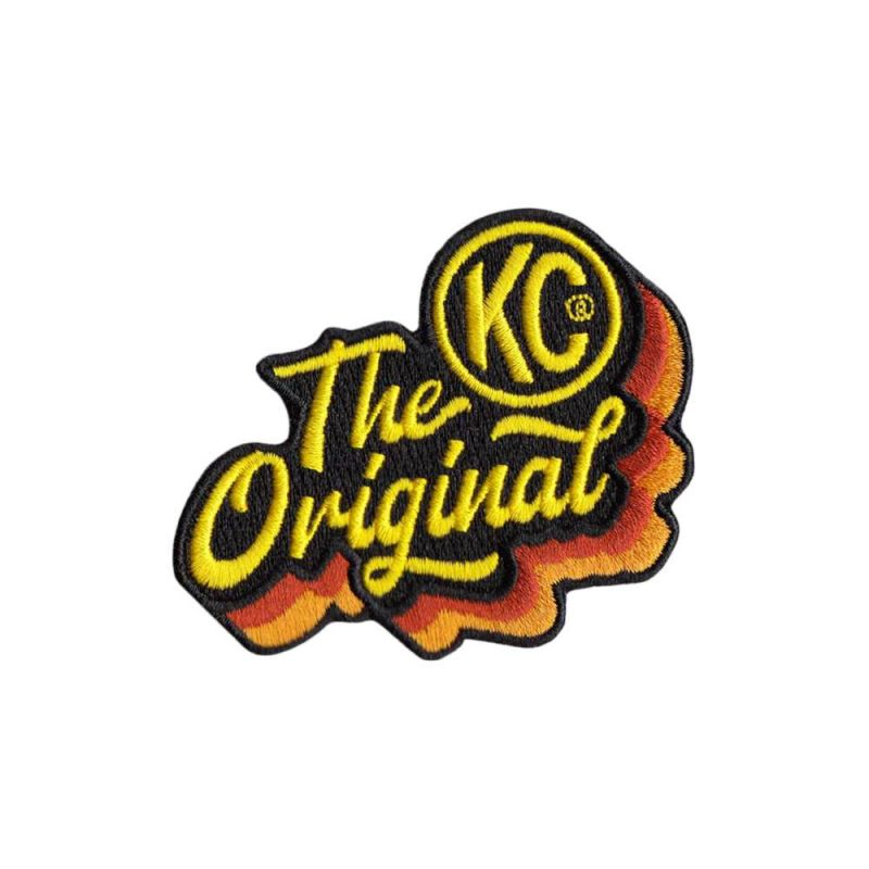 KC The Original 50th Anniversary Patch - Die-Cut