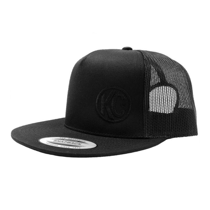 KC Flat Bill Trucker Hats (Black or Gray)