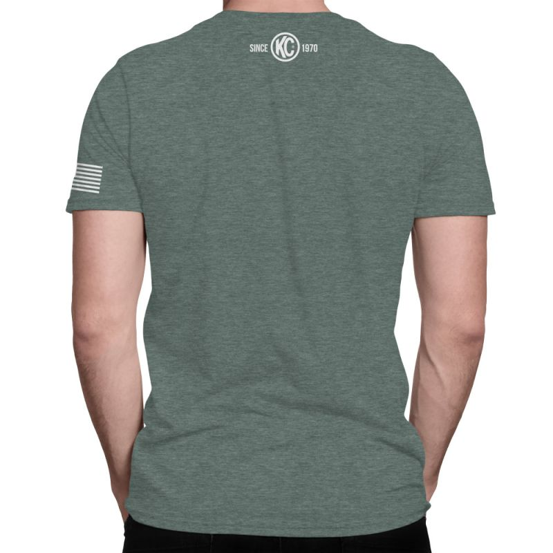 KC Eat Sleep  Camp Repeat Tee Shirt - Pine - Small