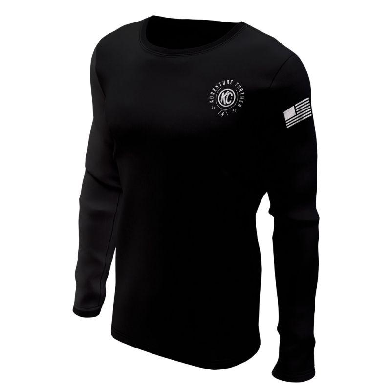 KC Trailblazer Long Sleeve Tee Shirt - Black - Small