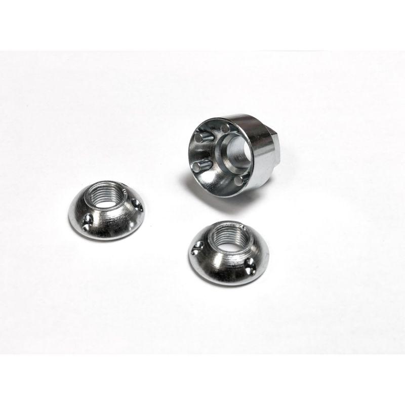 KC LKZ - M8-1.25 Light Lock Security Nut Set
