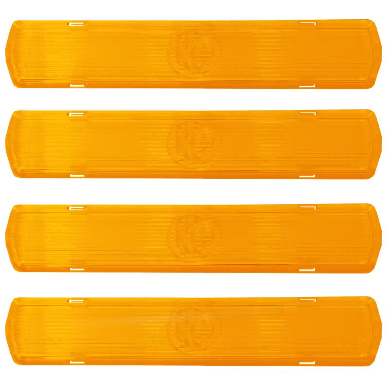M-RACK - Side Amber Cover - 4-pk