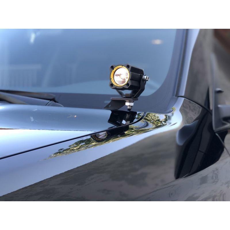 KC FLEX™ LED - Pillar / Ditch Mount - 2-Light System - 10W Spread Beam - for 10-20 Toyota 4Runner