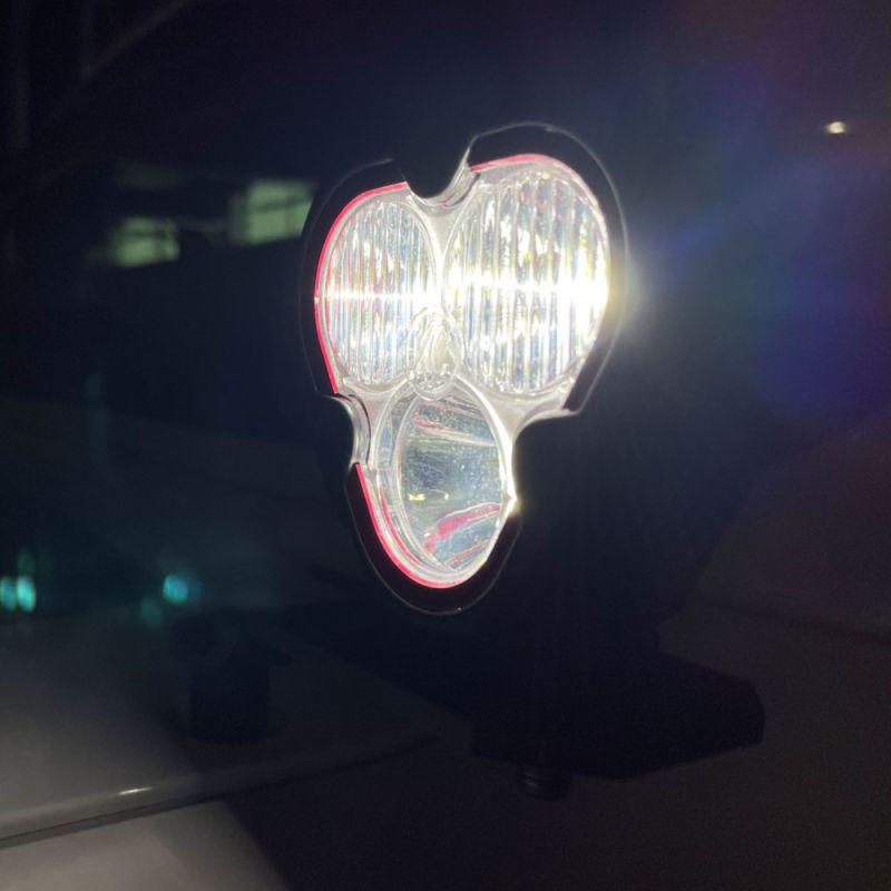 FLEX ERA® 3 - 2-Light System - Pillar Mount - 40W Spot Beam - for 18-21 Jeep JL / JT