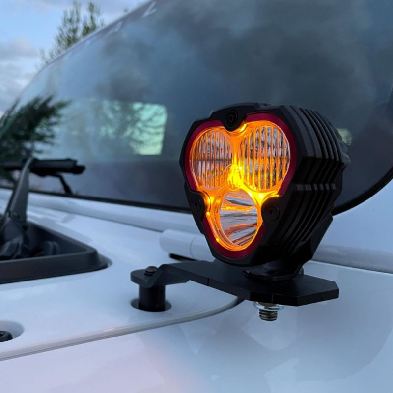 FLEX ERA® 3 - 2-Light System - Pillar Mount - 40W Combo Beam - for 18-21 Jeep JL / JT
