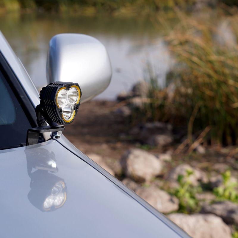 FLEX ERA® 3 - 2-Light System - Ditch Mount - 40W Spot Beam - for 02-09 Toyota 4Runner