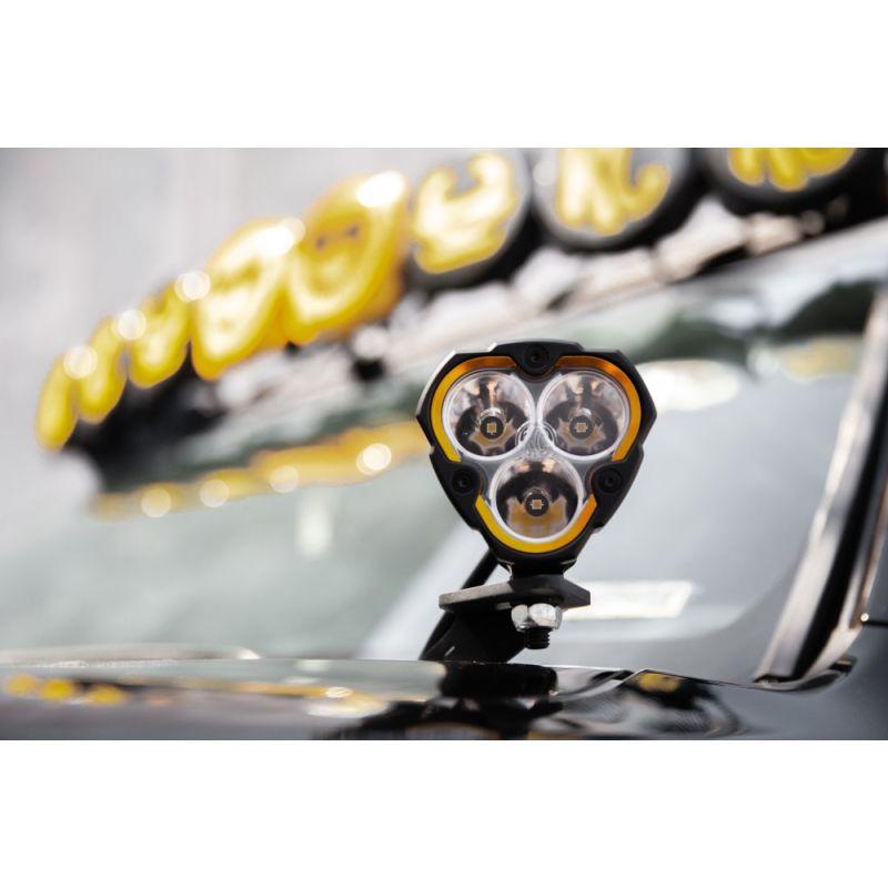 FLEX ERA® 3 - 2-Light System - Ditch Mount - 40W Spot Beam - for 16-20 Toyota Tacoma