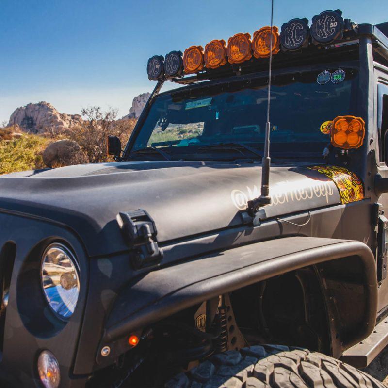 FLEX ERA® 4 - 2-Light System - Pillar Mount - 80W Combo Beam - for Jeep JK