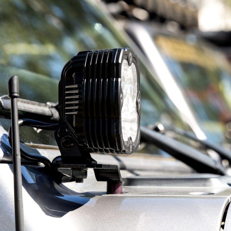 FLEX ERA® 4 - 2-Light System - Pillar Mount - 80W Combo Beam - for 18-21 Jeep JL / JT