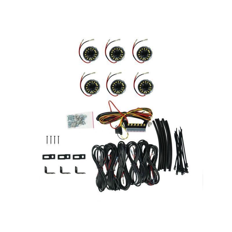 Cyclone V2 LED 6-Light - Rock Light Kit