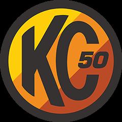 KC 50th logo